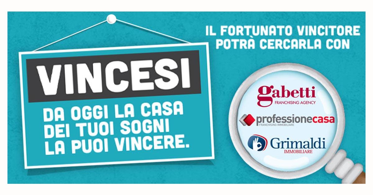 """Gruppo Gabetti come partner per """"VinciCasa"""""""