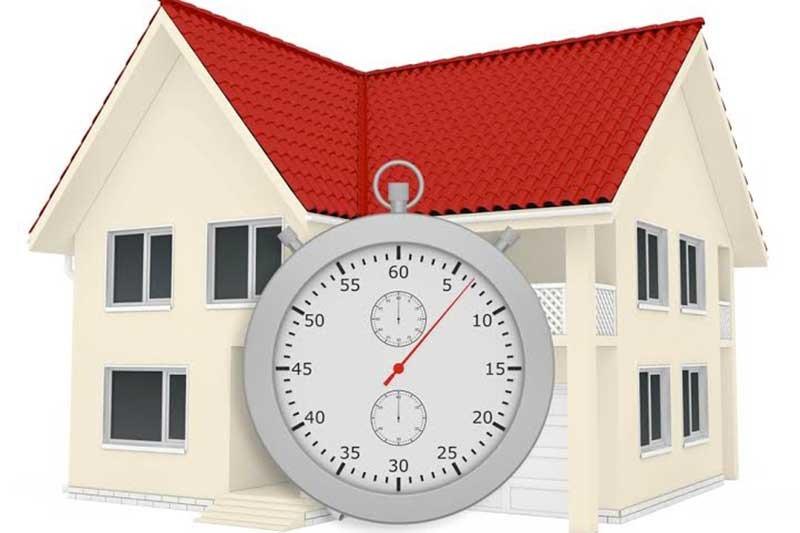 Quanto si sono ridotti i tempi di vendita di una casa?
