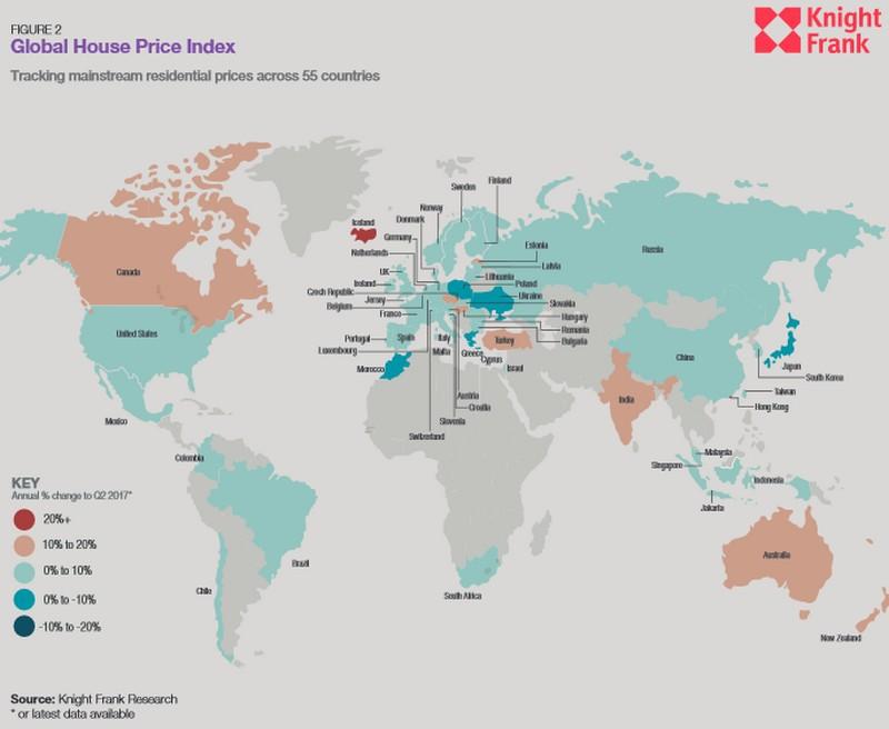 Prezzi delle case: l'Italia fanalino di coda nel panorama internazionale